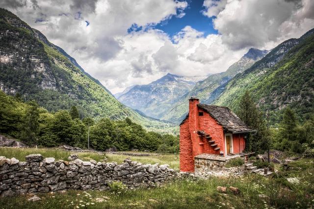 chatička v horách