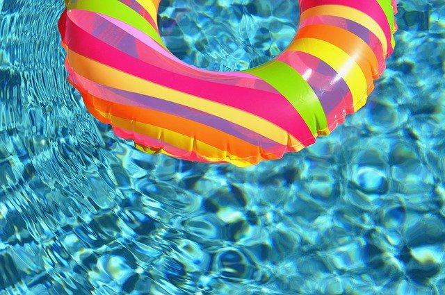 kruh na plavání