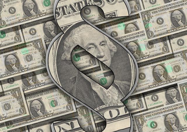 dolary, bankovky
